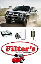 FILTER KIT HOLDEN RODEO K23020 RA HFV6  LCA  V6 3.6L MPFI 2006-2008 OIL FUEL AIR