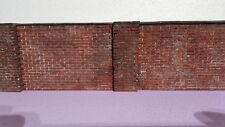1 35 diorama accessories old 2 walls  2 large pillars set  painted and weathered