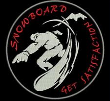 Patch toppa SCI SNOWBOARD SCRATC o TERMOADESIVO INCUSO