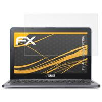atFoliX 2x Screen Protection Film for Asus Laptop E203NA matt&shockproof