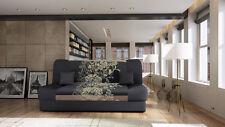 Schlafsofa Sofa Couch SCHLAFFUNKTION Polsterecke! - Nella Sving! Mit bettkasten