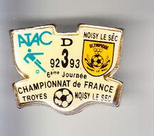 RARE PINS PIN'S .. FOOTBALL SOCCER ATAC TROYES 10 - NOISY LE SEC 93  ~BR