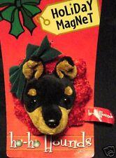 HO HO HOUND*Plush 3-D Dog Magnet*Cute Canine GIFT*Many Breeds*FREE SHIPPING*