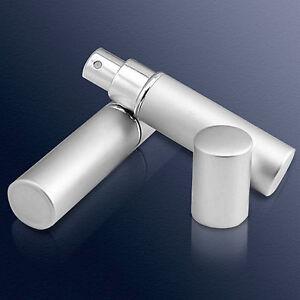 Mini Atomizador Vaporizador para Perfume de viaje de Aluminio y Cristal 2508R