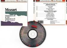 "Wolfgang Amadeus MOZART ""Sinfonia n40 / n41 Jupiter"" (CD) Edlinger 1991"