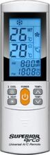 Superior Airco plus Univeral REMOTE CONTROL FOR AIR CONDITIONERS - 2000 codes!