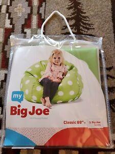 My Big Joe Classic 88 Inch Green Polka-dot Beanbag