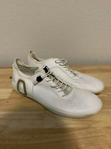 Ecco Danish Design White Leather Shoes Sneakers Size 42 EUR US Size 8.5/9