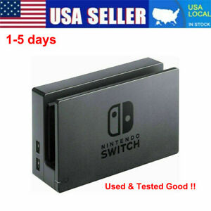 HAC-007 Charging Dock Base Docking Station For Nintendo Switch Console Black