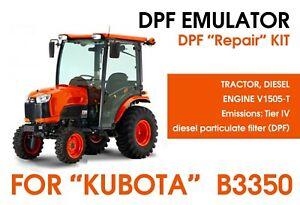 """DPF repair kit for """"Kubota"""" B3350"""