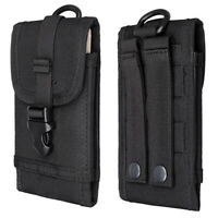 """Outdoor Tactical Military Molle Cell Phone Pouch Case Belt Bag For 6"""" Smartphone"""