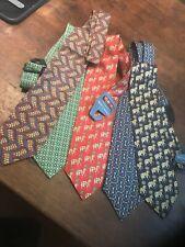 PIERRE CARDIN  Silk Ties Lot  x  5 Various Patterns/Colours BNWT
