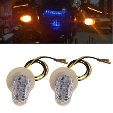12V Moto Flush LED Lumière de Signal Lampe pour Yamaha YZF R1 R6 R6 SFZ1S FAZER