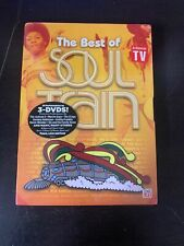 BRAND NEW SEALED - Soul Train: The Best of Soul Train - (DVD, 2010, 3-Disc Set)