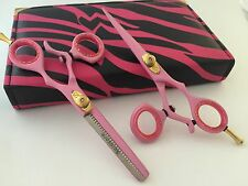"""5.5""""Professional Hair Cutting & Thinning Scissors Barber Shears Hairdressing Set"""