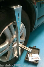 Ahorra gastos de garaje Hazlo tú mismo Magnético Camber Castor Rueda Alineación Calibrador + Camber Bar