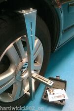 SAVE GARAGE COSTS DIY Magnetic Wheel Alignment Camber Castor Gauge + Camber Bar