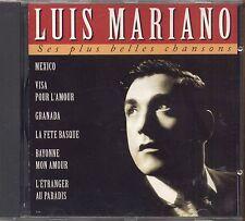 LUIS MARIANO - Ses plus belles chansons - CD 1994 USATO OTTIME CONDIZIONI