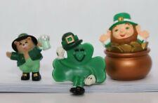 Hallmark St. Patrick's Day Merry Miniatures - Leprechaun Trio (Lot of 3)