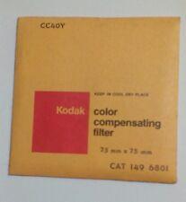 New Kodak No CC40Y (1496801) Filter Original Sealed