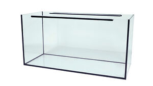 Aquarium Glasbecken Glasaquarium  schwarz oder transparente Verklebung TOP