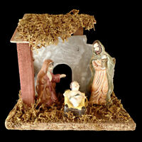 MINIATURE CHRISTMAS NATIVITY SET -perfect for- TABLE TOP CHRISTMAS TREES
