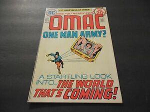 Omac #1 Oct 1974 Bronze Age DC Comics Jack Kirby Art & Story             ID:4183