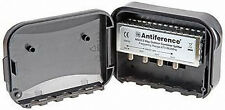 Antiference Outdoor Or Masthead 3 Way Aerial Splitter UHF TV Freeview