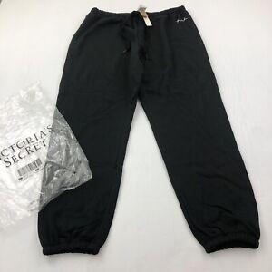 Victoria Secret PINK Classic Pants Sweats Sweatpants L Comfy fleece large