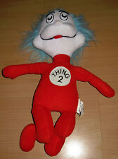 Plush Thing 2 Stuffed Animal Character Dr Seuss Cat In The Hat Movie Nanco