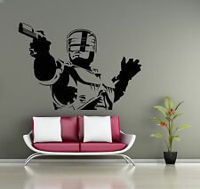 Robocop Wall Decal Movie Vinyl Sticker Home  Interior Decoration Mural (31z)