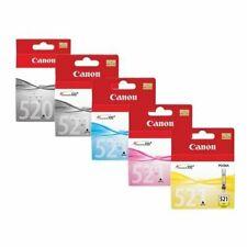 Genuine Canon PGI-520 CLI-521 Ink Cartridges Without Box Set of 5 Sealed Inks