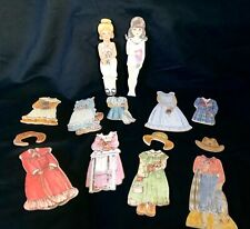 New ListingWooden Paper Dolls and Doll Clothes, Bethany Farms, Inc.