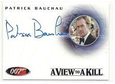 James Bond in Motion Autogrammkarte A93 Patrick Bauchau