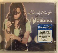 Demi Lovato Live Walmart Soundcheck CD & DVD La La Land Remember December ++