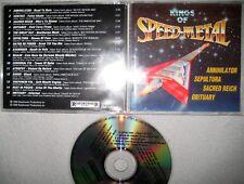 RARE CD Kings Of Speed Metal Roadrunner Records Sacred Reich Trash Sepultura