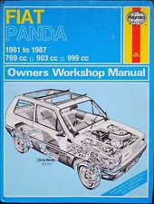 Haynes Workshop Manual Fiat Panda (fwd) from 1981 to 1987.