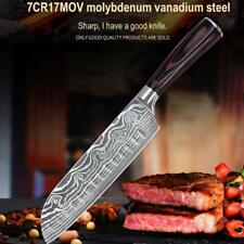 7 Inch Professional Santoku Kitchen Knife Steel Chef's Knife with Gift Box