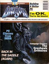 TSR DRAGON MAGAZINE UK ISSUE #  225 JANUARY 1996