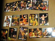 1995 Cardz WCW Main Event Full Card Set #2-51 Hulk Stone Cold Steve Austin RC