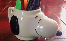 Tazza porta penna SNOOPY ceramica vintage anni 80 collezione modernariato