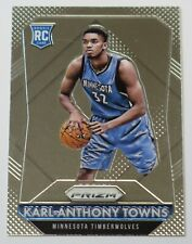 2015-16 Panini Prizm Karl-Anthony Towns # 328 Rookie Card RC