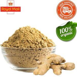 Ginger Powder 100%Organic Ground Spice Top Quality 50G-2KG Free UK Mainland P&P