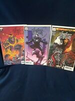 Venom #20 regular cover, codex variant cover, & 2099 cover MARVEL Comics (2019)