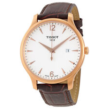 Tissot Tradition Rose Gold PVD Mens Watch T0636103603700