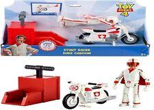 Disney Toy Story Gfb55 Pixar 4 Stunt Bike Racer Duke Caboom With Motorcycle Lau