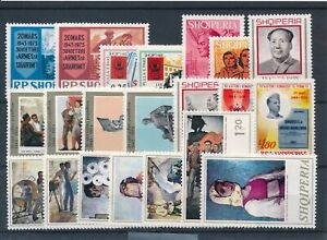 [34641] Albania Good lot Very Fine MNH stamps