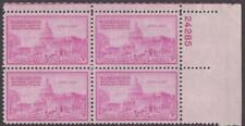 Scott # 992 - Us Plate Block Of 4 - U.S. - U.S. Capitol Building - Mnh - 1950