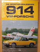 VW-Porsche 914 Die Sportwagenlegende Modelle Typen Baureihen Bilder Buch Book