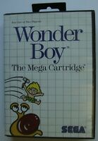 WONDER BOY THE MEGA CARTRIDGE SEGA MASTER SYSTEM SMS